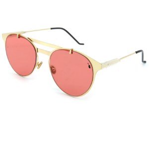 Óculos de Sol Prorider Dourado com lente rosa - 17165C5