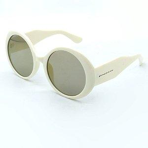 Óculos Solar Prorider Branco com lente Cinza-spr422