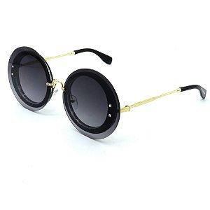 Óculos Solar Prorider Dourado com lente fumê-yt312