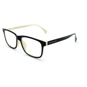 Óculos Solar Prorider Preto e Bege com lente Trasparente-yu54