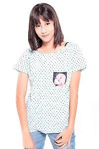 Camiseta Prorider Zeno On Azul Claro com efeito Bolso Pequeno estampado - ZOCAM0017