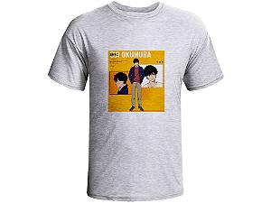 Camiseta Prorider Zeno On Cinza Claro com estampa Quadrada - ZOCAM09