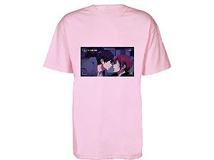 Camiseta Prorider Zeno On Rosa Claro com Bolso Retangular Horizontal estampado - ZOCAM10