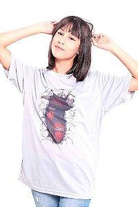 Camiseta Prorider Zeno On Cinza Claro com estampa Retangular Vertical - ZOCAM18