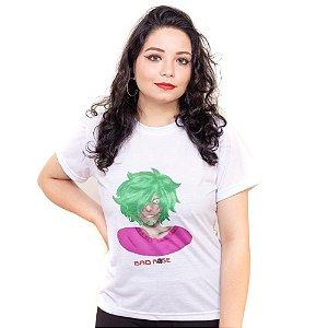 Camiseta branca Bad Rose Personagem Autoral Nanami Nem - NILL