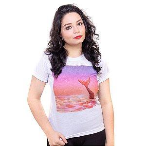 Camiseta branca Bad Rose Personagem Autoral Nanami Nem - OCEAN