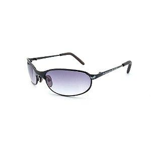 Óculos de Sol Retro Prorider Preto com Lente Degrade - 2653