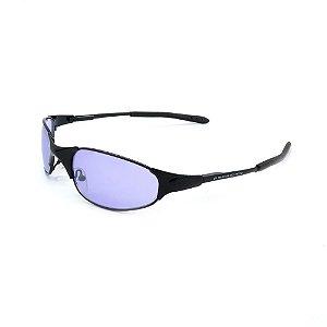 Óculos de Sol Retro Prorider Preto com Lente Degrade - 2653-1
