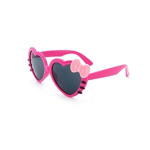 Óculos de Sol Prorider Infantil Rosa com Laço Roxo - ZXD28-18