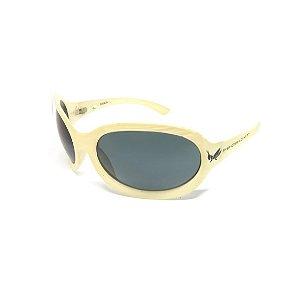 Óculos Solar Prorider Retro off whitte com Lente Degradê fumê-PRO0093