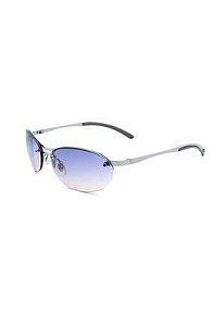 Óculos De Sol Prorider Retro Prata com lente degrade - RXPR