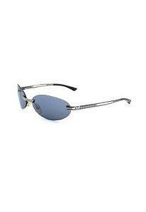 Óculos De Sol Prorider Retro Prata com lente fumê - 612