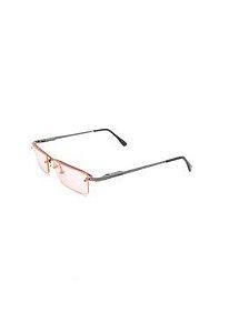 Óculos Solar Prorider retro prata com lente rosa -  RSRLR
