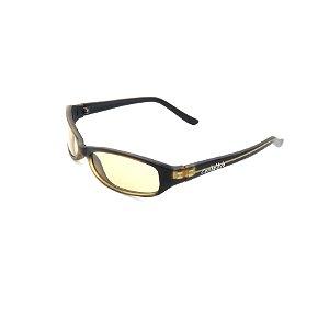 Óculos de Sol Prorider Conbelive Preto Retro com Lente Amarela - 9390