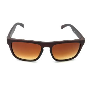 Óculos de Sol Dark Face Marrom Translúcido - HJ02
