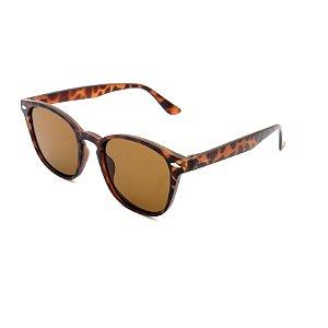 Óculos de Sol Prorider Animal Print Fosco com Lente Marrom - HP0071C72
