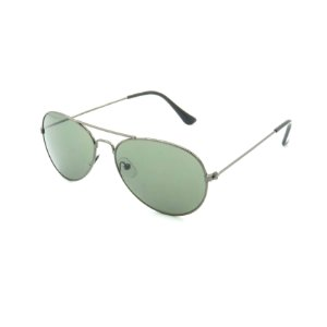Óculos de Sol Prorider Prateado Brilhante com Lente Verde - HS1009