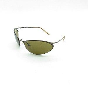 Óculos de Sol Prorider Retrô Marrom Fosco com Lente Fumê Marrom - ATENAH9067