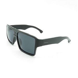 Óculos de Sol Prorider Preto Fosco Detalhado com Lente Fumê - 6600-1B