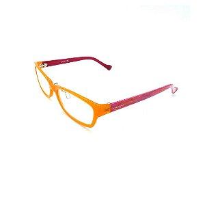 Óculos Receituário Prorider Laranja e Vinho Com Lente de Apresentação - SX9023-54