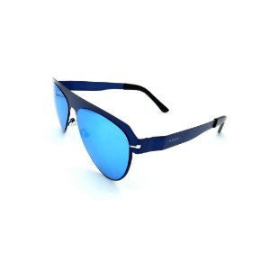 Óculos Solar Prorider Retrô Azul Com Lente Espelhada Azul - 26418C5