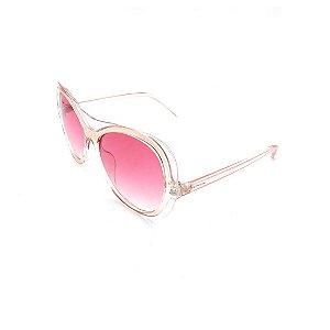 Óculos de Sol Prorider Transparente Rosê Com Lente Degradê Rosa -  S8761-57