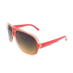 Óculos de Sol Prorider Vermelho com Lente Degradê Fumê Amarelado -  AT2005-C3