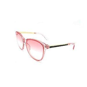 Óculos de Sol Prorider Transparente Rosa Com Lente Degradê Rosa -  FY8109-C5
