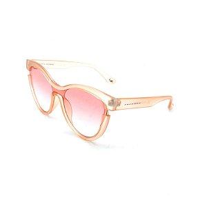 Óculos de Sol Prorider Transparente Rosê Com Lente Degradê Rosê-  CJH72003-C1