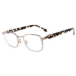 Óculos Receituário Robert La Roche Vintage Prata, Preto e Amarelo com Lentes de Apresentação - CA94C2