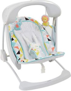 Cadeira de Balanço Take-along Swing and Seat Fisher-Price