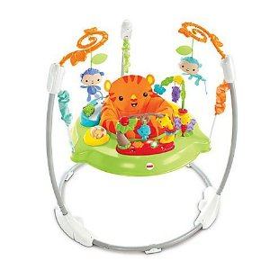 Jumperoo Hora do Tigre Fisher-Price