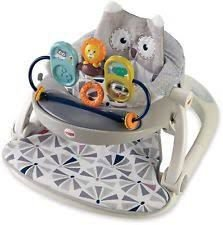 Assento Sit-me-up Coruja Fisher-Price