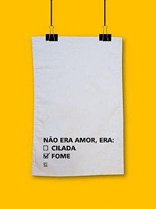 Pano de prato Cilada