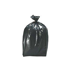 Saco plastico p/lixo 100l 75x100cm c/50unid. (extra pesado) preto - Nobre 12