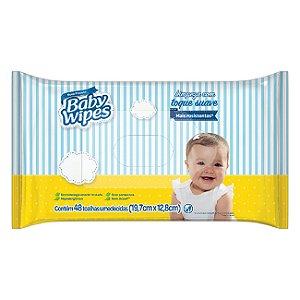 LENCO UMEDECIDO BABY WIPES 48UN TOQUE SUAVE