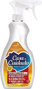 DESINFETANTE CASA & CUIDADO GATILHO PERF PROTECAO 500ML