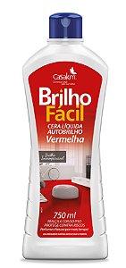 BRILHO FACIL CERA LIQ VERMELHA 750ML