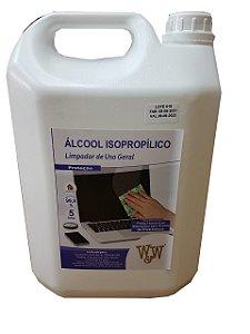 W&W ALCOOL ISOPROPILICO 99,8% 5 LITROS