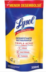 LYSOL DESINFETANTE PODER CITRICO 500ML