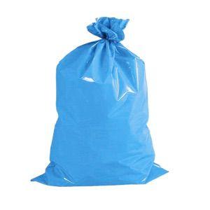 Pacote saco lixo AZUL P7 200L 100un - reforçado