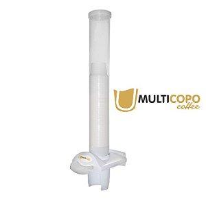 Dispenser poupador de copos 50ml branco Coffe - Nobre