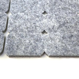 Protetor de Feltro Retangular 4x2,5 cm Clink