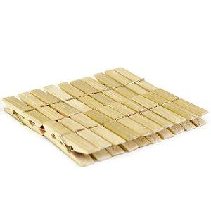 Prendedor de Bambu Multiuso 20 Pcs Colorido