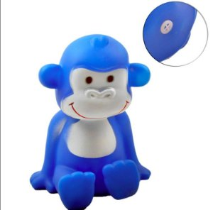 Macaco de Plastico para Pet Colors