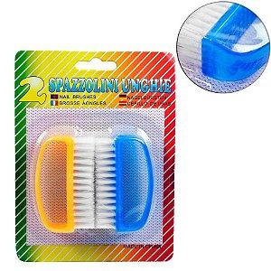 Escova Multiuso de Plastico 2 Pecas