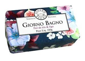 SABONETE BARRA GIORNO FLOR DE IRIS E FIGO 180G