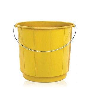 Balde plastico 10 litros (alca de ferro) ARQPLAST amn