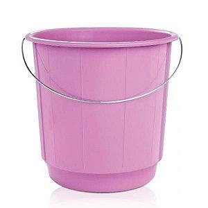 Balde plastico 15 litros (alca de ferro) ARQPLAST