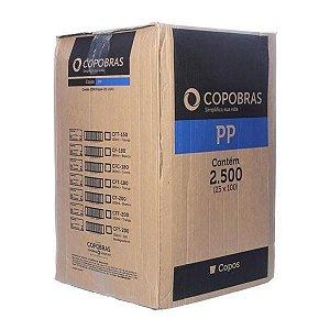 Caixa Copo 150ml transp PP c/ 2500 Copobras